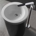 Treemme | freistehender Waschtischmischer Ran | chrom