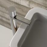 Treemme Nano | Standmischer für Waschtisch | chrom
