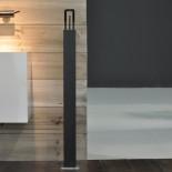 Philo | Standmischer für Waschtisch | schwarz matt