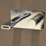 Treemme Nano | Unterputz-Waschtischmischer | 20cm Auslauf | chrom