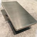 Treemme Einhebel-Tischmischer 5mm | Edelstahl gebürstet