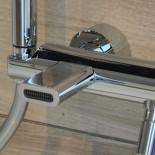 Treemme Nano | Aufputz-Wannenfüllmischer | 12cm Auslauf | chrom