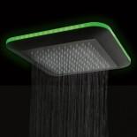 Regenbrause Light | ohne Schwallfunktion | mit Option: LED Beleuchtung | Einbauvariante