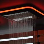 Regenbrause Light | ohne Schwallfunktion | mit Option: LED Beleuchtung | Unterbauvariante