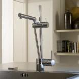 Treemme Küchenarmatur 5500 | chrom | schwenkbare Handbrause chrom