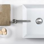 Einhebelmischer Diametrotrentacinque | Edelstahl gebürstet