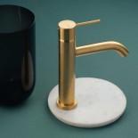 Einhebelmischer Diametrotrentacinque | Oberfläche: gold gebürstet | GOX