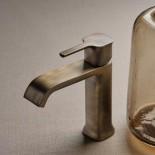 Ritmonio | Waschtischarmatur Taormina | bronce dunkel gebürstet (F34) | Griffoptionen
