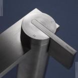 Ritmonio | Waschtischarmatur DOT316  hohe Bauform | Edelstahl gebürstet | Detail