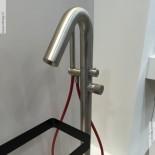 Wannenfüll-Standarmatur | Diametro35 Inox concrete | edelstahl gebürstet | Cersaie