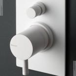 2- Wege Unterputzmischer Diametro35 | weiß | Detail