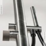 Duschen-Standarmatur | Diametro35 Inox concrete | edelstahl gebürstet