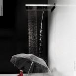 Regen- und Schwallbrause Almenoindue | 537x165 | Edelstahl