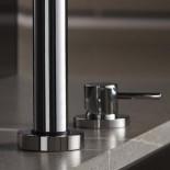 2-Loch Küchenmischbatterie Diametrotrentacinque | chrom | Einhandbedienung
