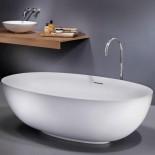 Badewanne Epona Soft | weiß matt | 183x116