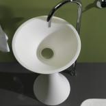 Standwaschschale Calice | Tecnoglass weiß (51)