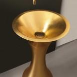 Standwaschschale Calice | gold foliert