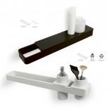 Regia | Accessoirsystem Ruben | mit Becherhalter, Seifenspender in weiß
