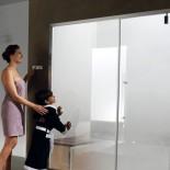 Hamam mit Nuvola Touch und Smart155 Tür