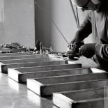 Snake One | Herstellung im Werk in Gattico | Vorbereitung für Ausführung Ferro Grezzo