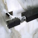 Scirocco Ventil Quadro | schwarz chrom