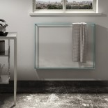Light mit Metall-Rahmen Quadro als Handtuchhalter