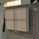 Light mit Metall-Rahmen Croce als Handtuchhalter