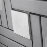 Wandheizkörper Square | 74x74cm | lackiert | Wasserreservoir zur Luftbefeuchtung
