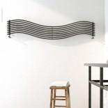 Wandheizkörper Wave | 150x25cm | lackiert | horizontal