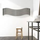 Wandheizkörper Wave | 150x37cm | lackiert | horizontal