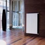 Wandheizkörper SAND vertical | weiß glänzend | 700x1200