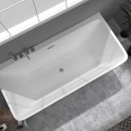 Wand-Badewanne Kessel