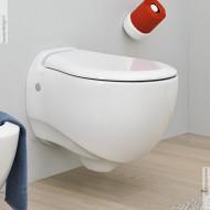 Wand-WC Blend schwarz