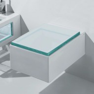 Wand-WC Serie Glass