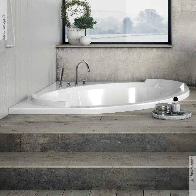 banos10 eckbadewanne bravatta 150x150 extra tiefe badewanne verschiedene massagesysteme. Black Bedroom Furniture Sets. Home Design Ideas