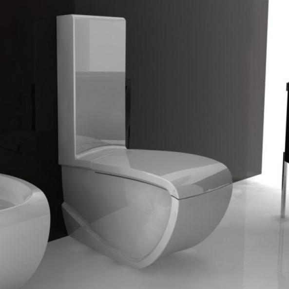Hidra Stand Wc Mit Spulkasten Hi Line Design Paolelli