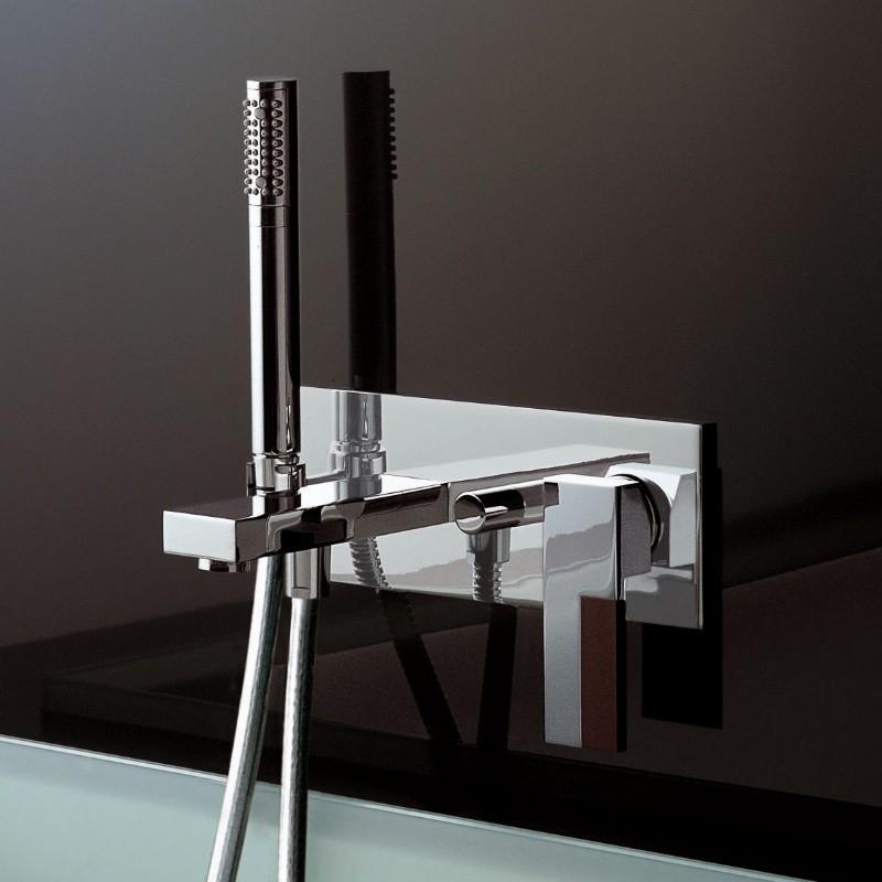 Unterputz badewannenmischer ar 38 mit handbrause sun for Badewannenarmatur unterputz
