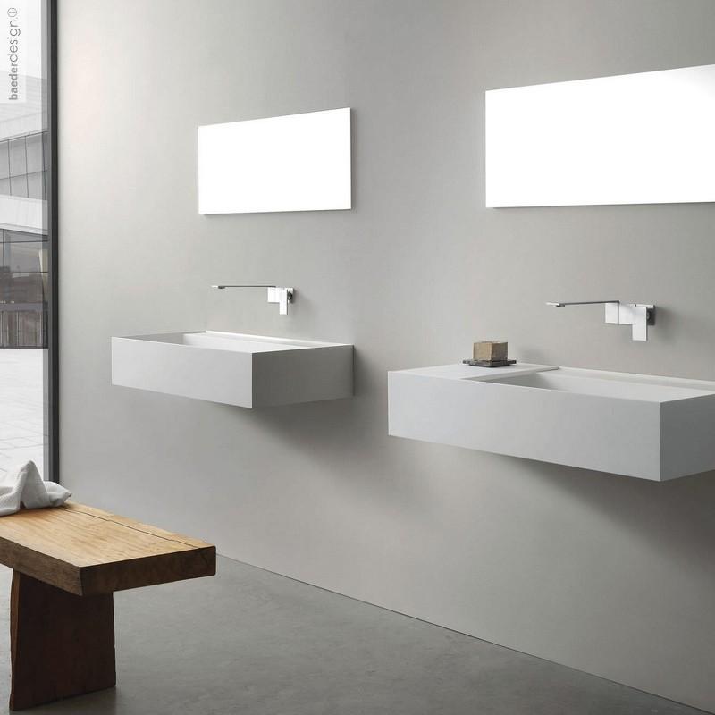 Treemme Einhebel Waschtisch Wandarmatur 5mm Design Oco Studio