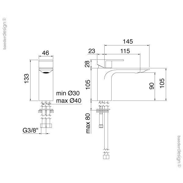Treemme | 2211 | Technische Zeichnung