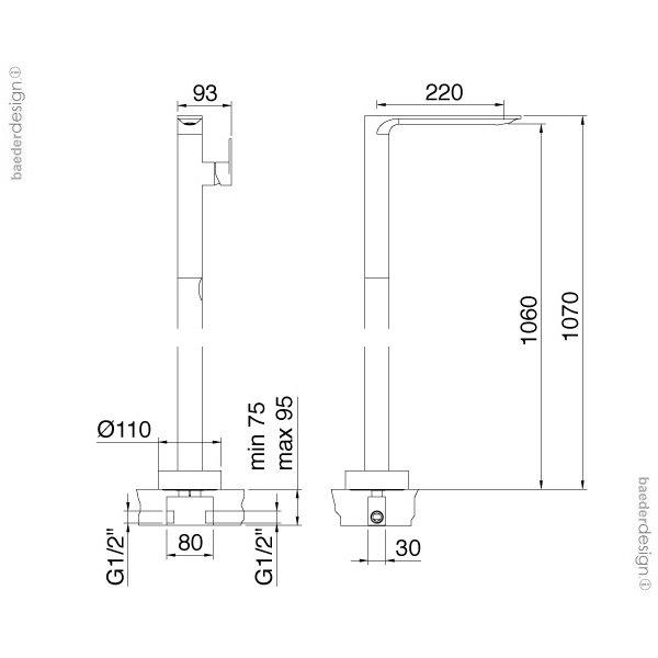 Treemme | 2214 | Technische Zeichnung