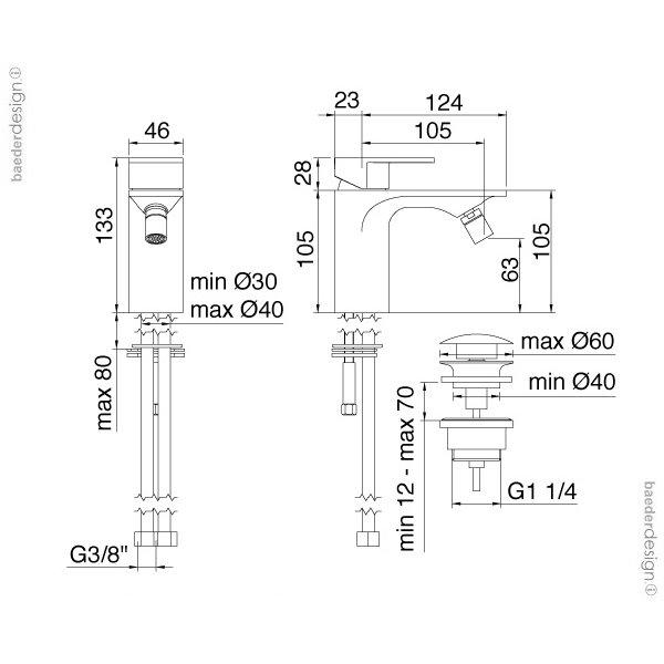 Treemme | 2220 | Technische Zeichnung