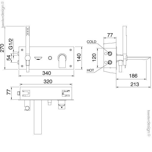 Treemme | 2205 | Technische Zeichnung