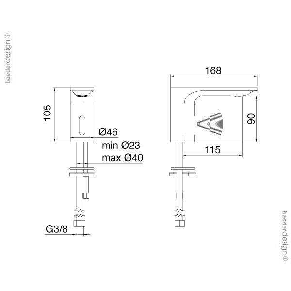 Treemme | 2215 | Technische Zeichnung