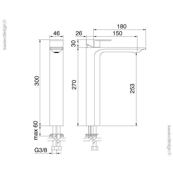 Treemme | 2218 | Technische Zeichnung
