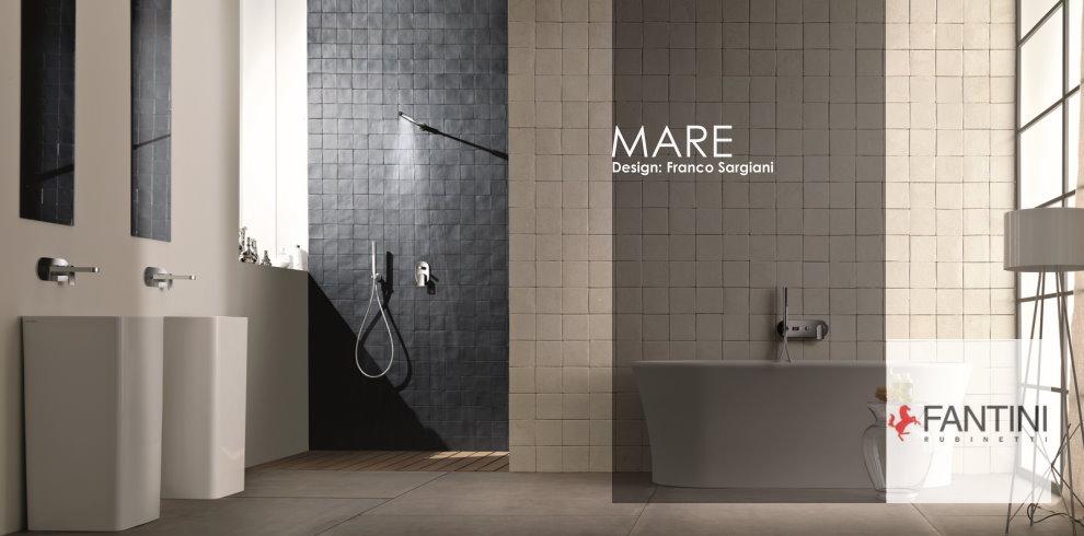 Bäderdesign  Armaturenserie Mare | Fantini | Designer: Franco Sargiani ...