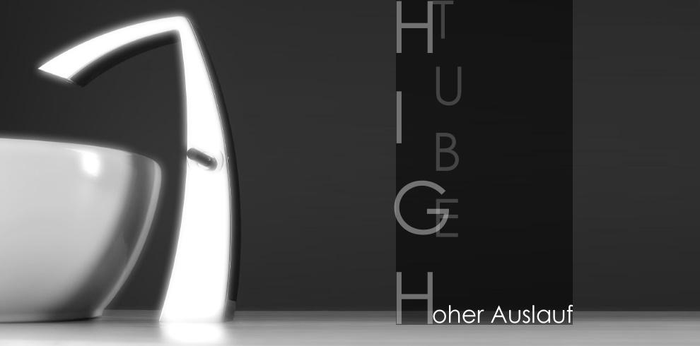 Gut Einhebelmischer hoch | hoher Auslauf | baederdesign.info  SD33