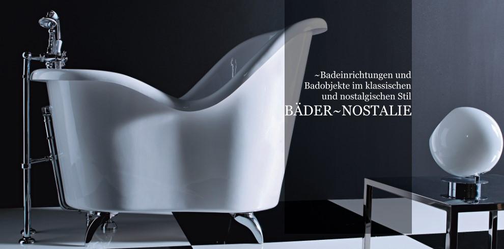 Bäder und Badobjekte im klassisch-nostalgischen Stil. | Designbäder ...