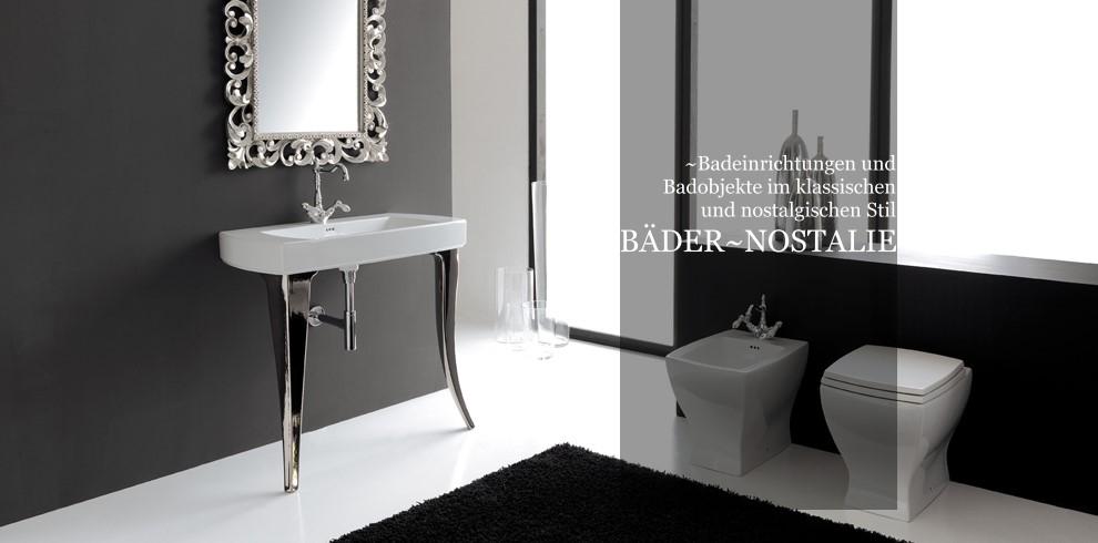 Bader Und Badobjekte Im Klassisch Nostalgischen Stil Designbader