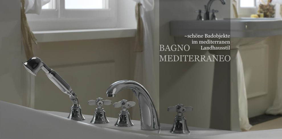 Bader Und Badobjekte Im Mediterranen Stil Designbader Aus Italien