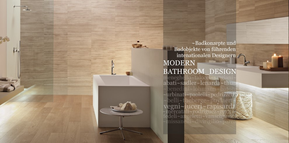B der und badobjekte in modernem italienischen design for Bad designer